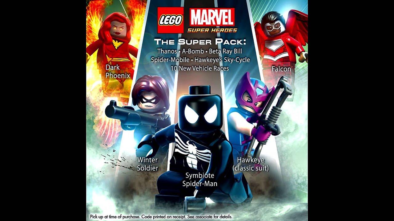 lego marvel super heroesОбзо� dlc the super pack и asgard