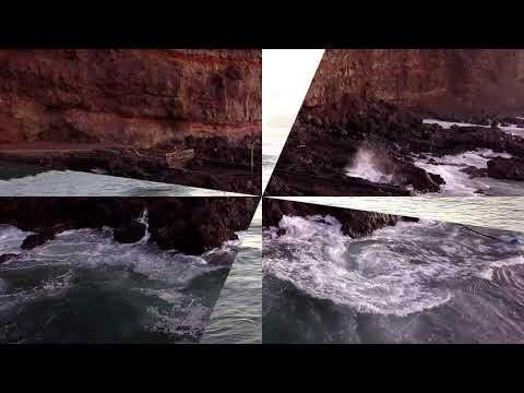 Rough Seas @ St Helena Island