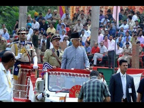 72nd Independence Day celebrated in Kashmir amid tight security arrangements