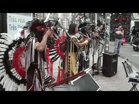 Native American music in Brussels