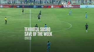 [POLLING] TEHBOTOL SOSRO SAVE OF THE WEEK 32
