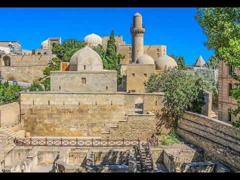 Palace of the Shirvanshahs, Baku, Baku Region, Azerbaijan, Eurasia