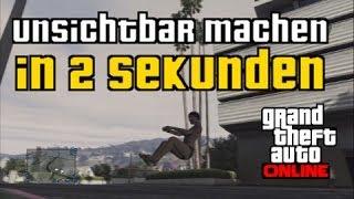 GTA 5 Online: Unsichtbar machen in 2 Sekunden | GLITCH | Super Easy | Patch 1.11