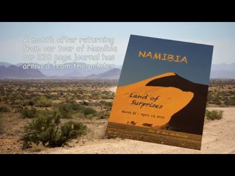 Namibia Travel Book 2016