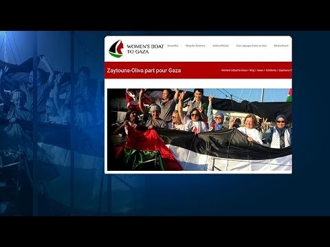 Israelische Marine hält Gaza-Aktivistinnenboot auf