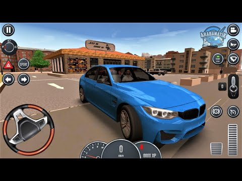BMW M5 Sport Serbest Sürüş - Driving School 2016 #28 - En İyi Android Taksi Araba Oyunu FHD