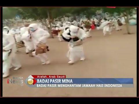 Badai Pasir Mina Melanda Arafah, Jemaah Haji Indonesia Panik - BIP 20/08