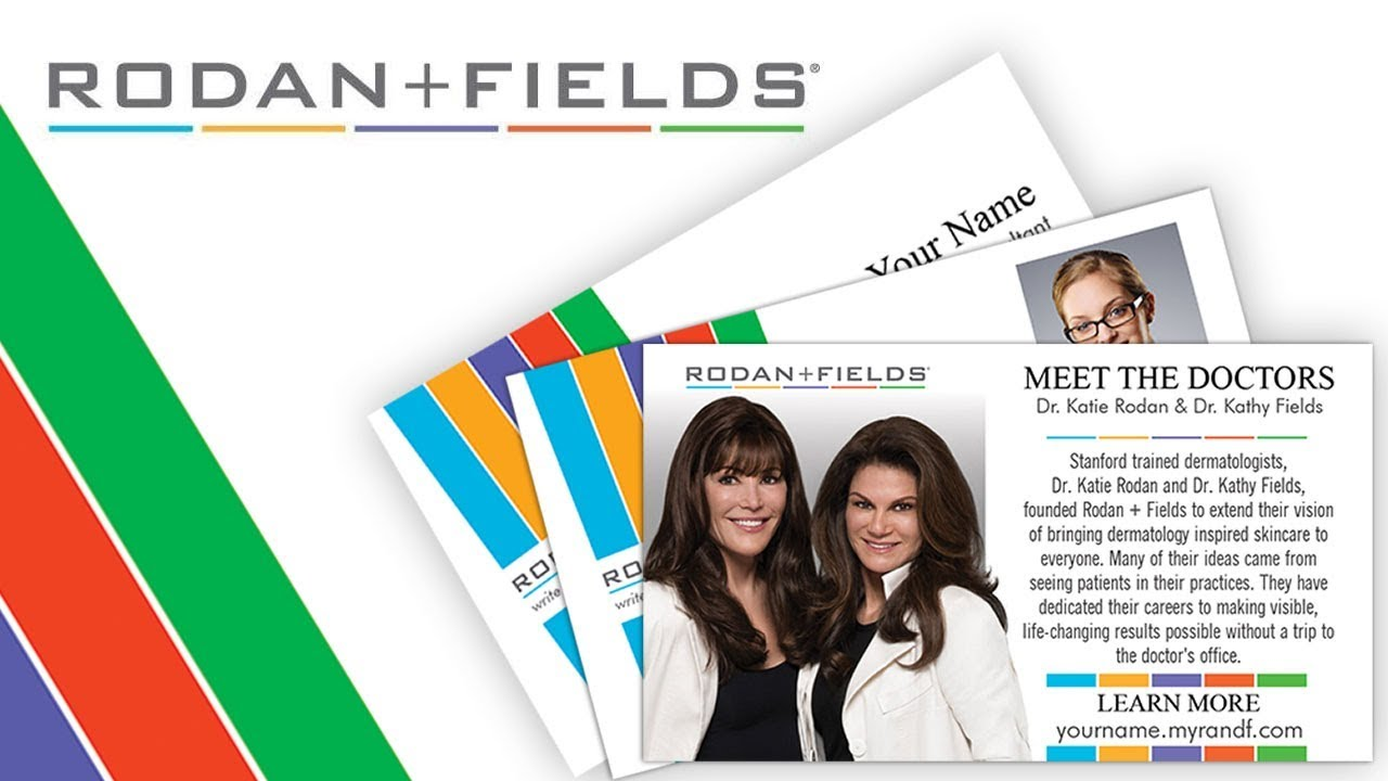 Rodan fields business cards customize yours today youtube rodan fields business cards customize yours today colourmoves