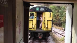 MBTA Blue Line and NYC Redbird meet!!