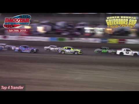 Dacotah Speedway WISSOTA Street Stock B-Main (7/26/19)