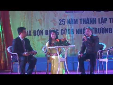 Văn nghệ chào mừng 25 năm thành lập trường thpt Trần Phú - Bố Trạch - Quảng Bình