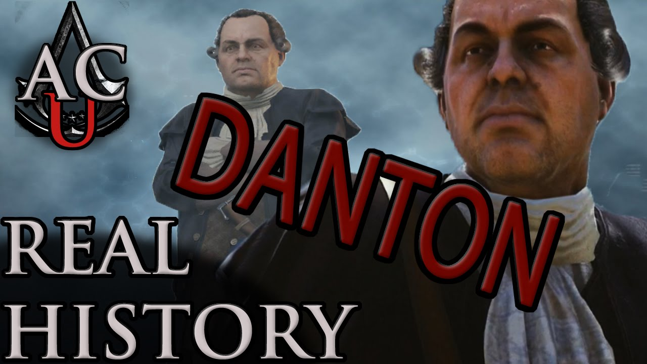 """Georges Danton assassin's creed: the real history - """"georges danton"""""""