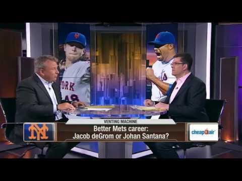 Better New York Mets Career: Jacob DeGrom Or Johan Santana?