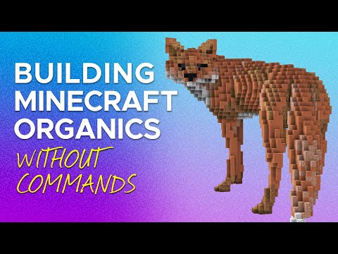 How I Build Minecraft Organics Without Using Commands