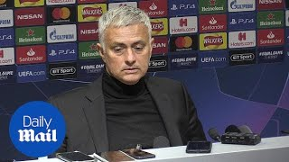 Mourinho praises 'one of the best teams' after 1-0 Juve defeat