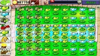 Plants vs. Zombies FREE  Adventures : Gatling Pea vs Snow Pea vs Repeater screenshot 1