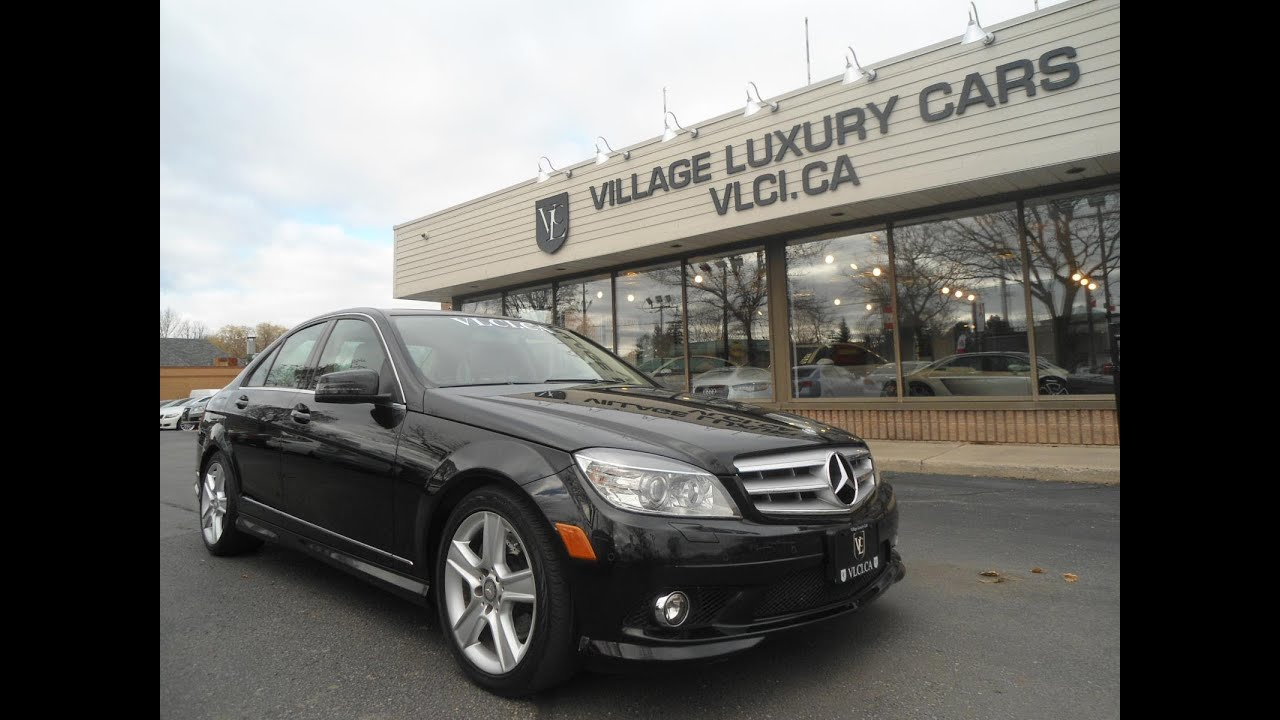 small resolution of 2010 mercedes benz c300 4matic in review village luxury cars toronto