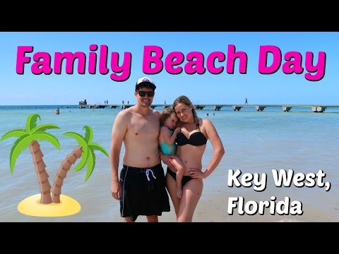 FAMILY BEACH DAY in Key West, Florida