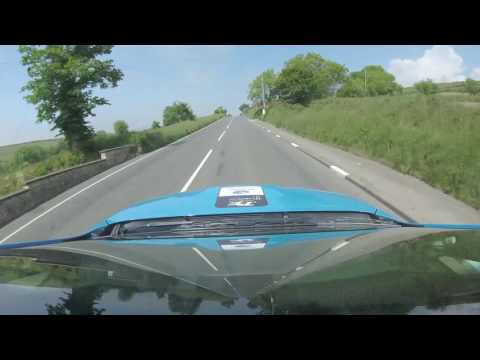 Mark Higgins Isle of Man TT Full Course Tour 2016 - Subaru STI