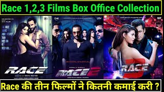 Race Franchise Box Office Collection | Race 1,2 & 3 Box Office Collection | Saif Ali Khan vs Salman