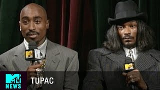 tupac snoop dogg on biggie puff daddy 1996 vmas mtv news
