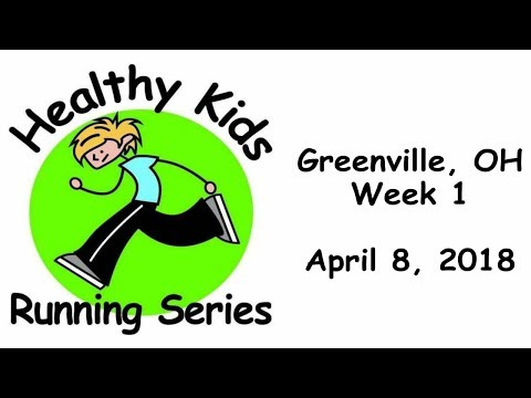 Healthy Kids Running Series - Greenville, OH - 4/8/2018