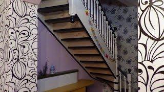 видео Монтаж лестниц, сборка и установка деревянных конструкций