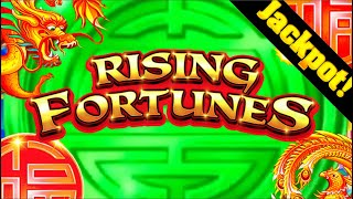 UNREAL!💥😱💥 MASSIVE JACKPOT HAND PAY On Rising Fortunes Slot Machine