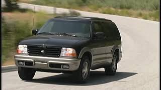2000 Oldsmobile Bravada Sport Truck Connection Archive road tests