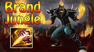 League of Legends - Jungle Brand vs Jungle Lee Sin