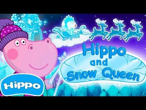 Гиппо 🌼 Сказки с Гиппо 🌼 Снежная королева 🌼 Мультик игра для детей (Hippo)