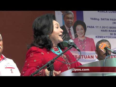 Rosmah Mansor : Saya Bersumpah.. Saya Tiada Cincin Itu 17/1/2013