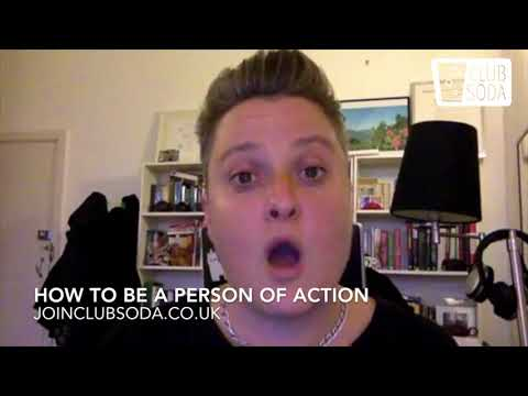 HOW TO BE A PERSON OF ACTION