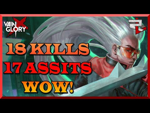 Kensei, The Dude That Can Turn A Team Fight Around! Vainglory 5v5