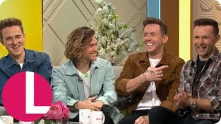McFly Say Reunion Feels Like Coming Home After a Difficult Hiatus | Lorraine