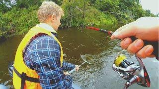 СУПЕР-КОРЯГА СДЕЛАЛА РЫБАЛКУ! Не везло, а потом поймал всю рыбу за 15 минут! Щука,судак,окунь,джиг!