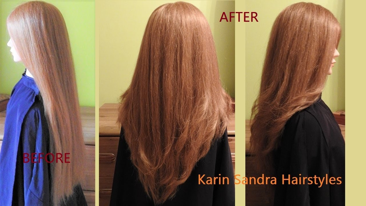long layered haircut v