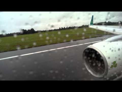 Aer Lingus Boeing 757-200 Takeoff Shannon