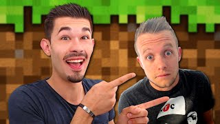 HIS FIRST TIME ON MINECRAFT ! I TROLL !
