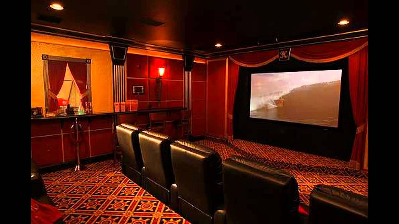creative home theater room design - youtube