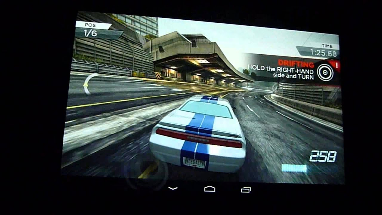 Need for Sd Most Wanted 2012 - Android Gameplay Mobile Nvidia ...