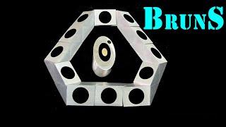 Metal Rubik's snake