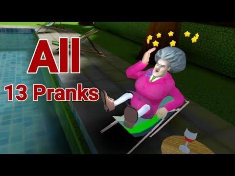 Scary Teacher 3D Version 5.0.5 All 13 Pranks
