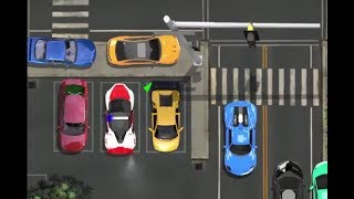 DUBAI POLICE CAR PARKING GAME LEVEL 5-10 | CAR PARKING GAMES HD