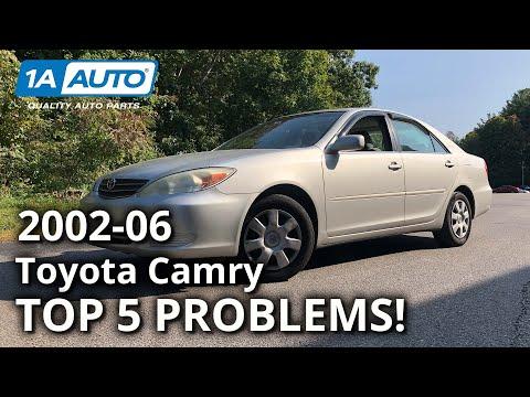 Top 5 Problems Toyota Camry Sedan XV30 5th Generation 2002-06