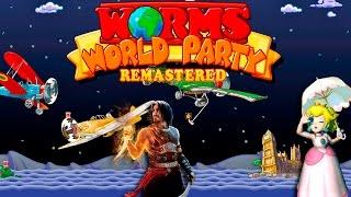Worms World Party Remastered! - Príncipes e Metralhadoras!!