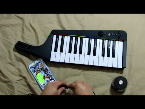 RB3 Keyboard midi through Android phone
