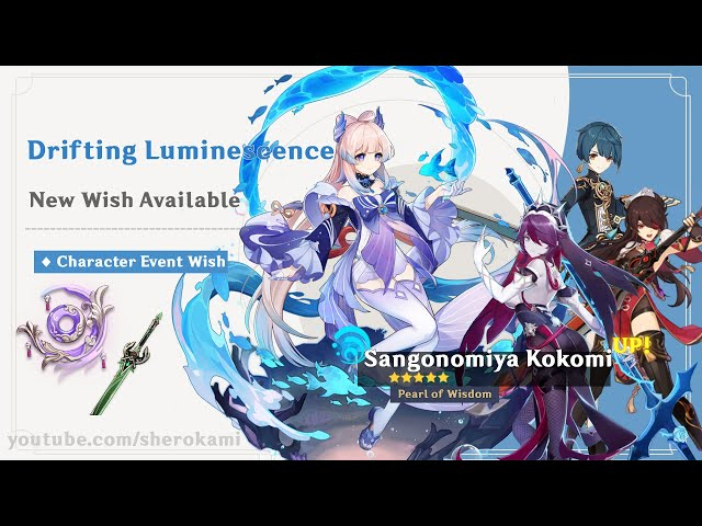 Kokomi Banner   Should You Pull? - Genshin Impact Standard quality (480p)