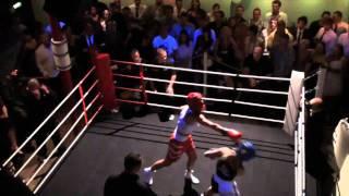 White Collar Boxing 2010 Nantwich- Russian Roulette VS Sarah Salmon