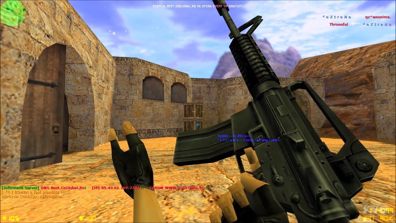 Counter-Strike 1.6 (2019) – Gameplay PC HD